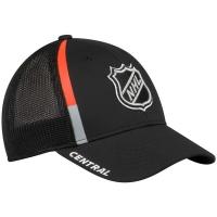 Central Division nhl adidas All-Star Game flex хоккейная бейсболка с сеткой черная
