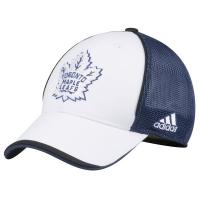Toronto Maple Leafs nhl adidas flex-fit stadium series хоккейная бейсболка с сеткой сине-белая