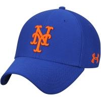 New York Mets mlb under armour performance спортивная бейсболка синяя