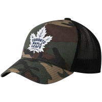Toronto Maple Leafs nhl adidas trucker хоккейная бейсболка с сеткой камуфляжная