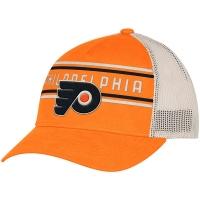 Philadelphia Flyers nhl adidas trucker хоккейная бейсболка с сеткой оранжевая