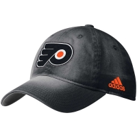 Philadelphia Flyers nhl adidas sandblasted хоккейная бейсболка черная