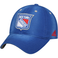 New York Rangers nhl adidas sanblasted хоккейная бейсболка синяя