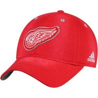 Detroit Red Wings nhl adidas хоккейная бейсболка красная