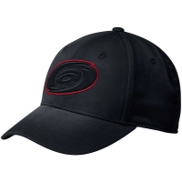 Carolina Hurricanes nhl adidas flex-fit practice хоккейная бейсболка черная