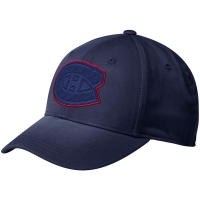 Montreal Canadiens nhl adidas flex-fit tonal хоккейная бейсболка темно-синяя