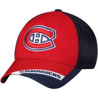 Montreal Canadiens nhl adidas flex-fit хоккейная бейсболка с сеткой красно-синяя