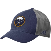 Buffalo Sabres nhl adidas flex-fit on ice хоккейная бейсболка с сеткой