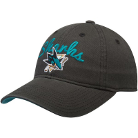 San Jose Sharks nhl adidas women's хоккейная бейсболка черная