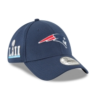 New England Patriots nfl new era super bowl sideline flex спортивная бейсболка