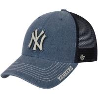 New York Yankees mlb '47 brand NY trucker спортивная бейсболка с сеткой темно-синяя