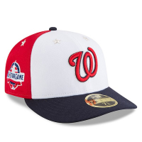 Washington Nationals mlb new era all-star fitted спортивная бейсболка цветная