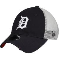 Detroit Tigers mlb new era trucker спортивная бейсболка с сеткой темно-синяя