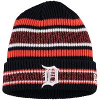 Detroit Tigers mlb new era heathered зимняя спортивная шапка