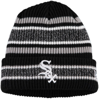 Chicago White Sox mlb new era vintage stripe зимняя спортивная шапка