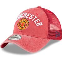 Manchester United FC new era trucker футбольная бейсболка с сеткой красная