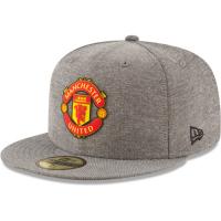 Manchester United FC new era fitted футбольная кепка с прямым козырьком
