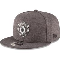 Manchester United FC new era snapback футбольная кепка с прямым козырьком серая