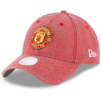 Manchester United new era women's футбольная бейсболка красная