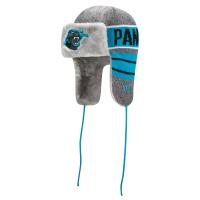 Carolina Panthers nfl new era frostwork trapper зимняя шапка ушанка