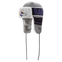Baltimore Ravens nfl new era frostwork trapper зимняя шапка ушанка