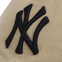 New York Yankees mlb new era NY спортивная бейсболка светло-бежевая