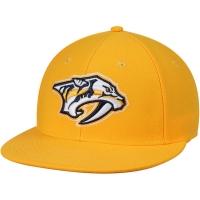 Nashville Predators nhl adidas fitted хоккейная кепка желтая