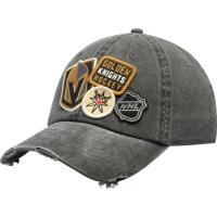 Vegas Golden Knights nhl american needle хоккейная бейсболка черная