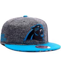 Carolina Panthers nfl new era snapback спортивная кепка с прямым козырьком серая