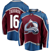Nikita Zadorov Colorado Avalanche nhl fanatics джерси хоккейный свитер бордовый