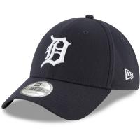 Detroit Tigers mlb new era flex classic спортивная бейсболка темно-синяя