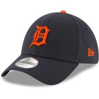 Detroit Tigers mlb new era flex tech спортивная бейсболка темно-синяя