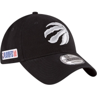 Toronto Raptors nba new era playoffs спортивная бейсболка черная