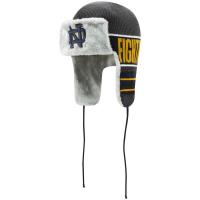Notre Dame Fighting Irish ncaa new era trapper зимняя спортивная шапка ушанка