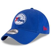 Philadelphia 76ers nba new era playoffs спортивная бейсболка синяя