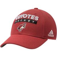 Arizona Coyotes nhl adidas flex хоккейная бейсболка бордовая