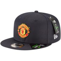 Manchester United FC new era snapback футбольная кепка с прямым козырьком темно-синяя