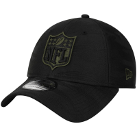 NFL new era shield camo спортивная бейсболка черная