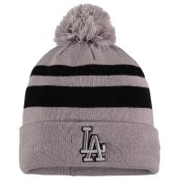 Los Angeles Dodgers mlb new era LA спортивная зимняя шапка с помпоном