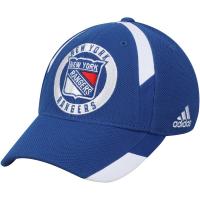 New York Rangers nhl adidas flex-fit хоккейная бейсболка темно-синяя