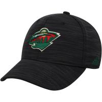 Minnesota Wild nhl adidas flex fit хоккейная бейсболка черная