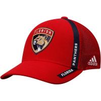 Florida Panthers nhl adidas хоккейная бейсболка с сеткой красная