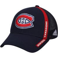 Montreal Canadiens nhl adidas charlie snapback хоккейная бейсболка темно-синяя