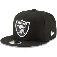 Oakland Raiders nfl new era snapback спортивная кепка черная