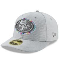 San Francisco 49ers nfl new era fitted спортивная бейсболка серая