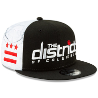 Washington Wizards nba new era snapback city edition спортивная кепка