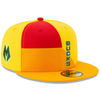 Milwaukee Bucks nba new era snapback city edition спортивная кепка