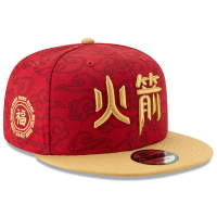 Houston Rockets nba new era snapback city edition спортивная кепка