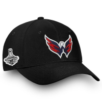 Washington Capitals nhl fanatics stanley cup champions flex-fit хоккейная бейсболка черная