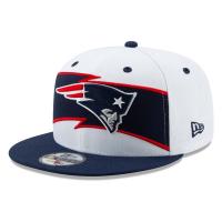 New England Patriots nfl new era snapback спортивная кепка бело-синяя